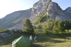 week-end randonnée bivouac en montagne