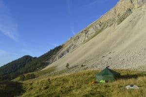 week-end randonée bivouac en montagne