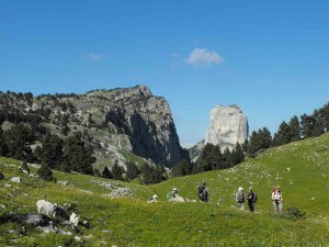 Séjours en randonnée pédestre, traversée du Vercors, avec Détours en Montagne