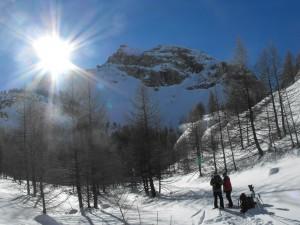 Séjour en raquettes neige, queyras avec Détours en Montagne
