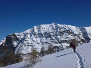 Séjours en raquettes à neige avec Détours en montagne, ecrins, Palluel