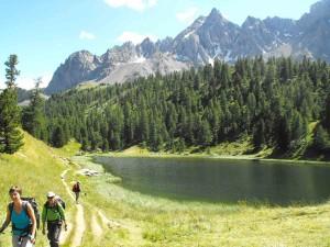 Lac d'altitude dans le Queyras