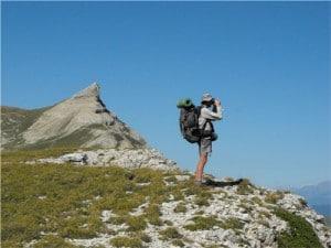 La crête de Chevalière, plateau du Vercors