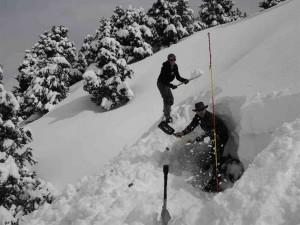week-end raquettes bivouac avec Détours en Montagne