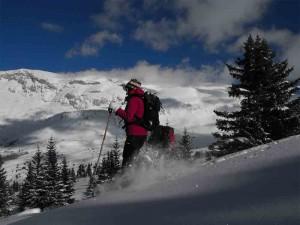 Raquettes à neige avec Détours en Montagne, Dévoluy