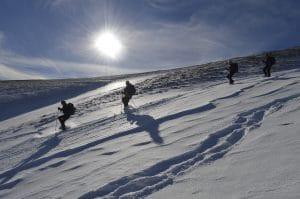 séjours randonnée montagne, en raquettes à neige, Détours en Montagne.