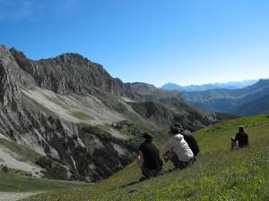 Trekking et bivouac-devoluy-mouflons