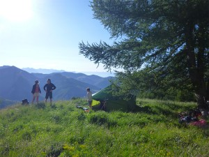 Montagne de la tente dans le Vercors