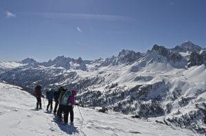 Séjour raquettes Clarée Mt-Thabor avec Détours en Montagne