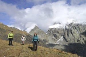 tour du Viso avec Détours en Montagne, pointe Johanne, refuge Vallante