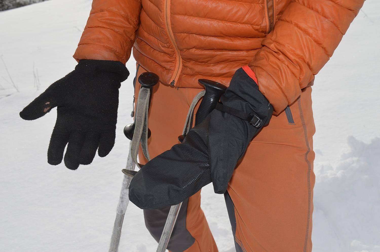 sous-gant polaire
