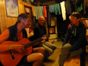 Guitare à Giacoletti