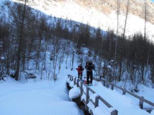 Traversée nordique en pulka