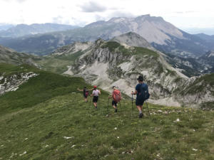 Bivouac Dévoluy avec Détours En Montagne