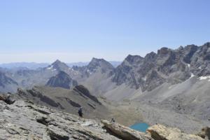 Tête de la Frema, 3150m.