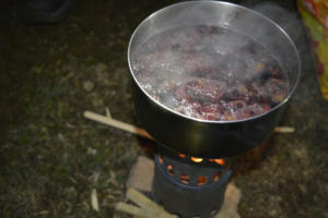 Préparation du vin chaud